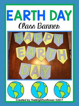 Earth Day Class Banner