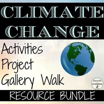 Climate Change Activity and Project Resource Bundle - good