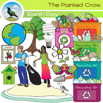 Earth Day Clip Art - 27 Eco Friendly Graphics