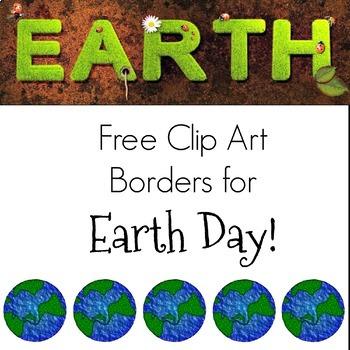 Earth Day Clip Art Borders