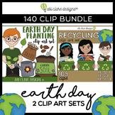 Earth Clip Art BUNDLE (140 Clips)