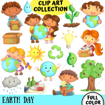 Earth Day Clip Art Collection (FULL COLOR ONLY)