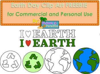 Earth Day Clip Art FREEBIE {Commerical and Personal Use}