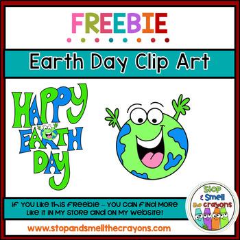 Earth Day Clip Art Freebie