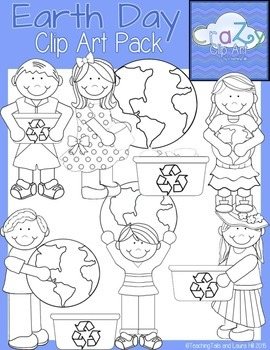 Earth Day Clip Art Pack {CraZy Clip Art}