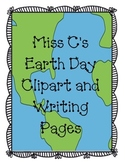 Earth Day Clip Art and Writing