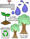 Earth Day Clipart - Commercial Use - Crayonbox Learning