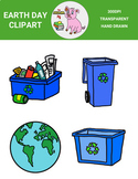 Earth Day Clipart Freebie