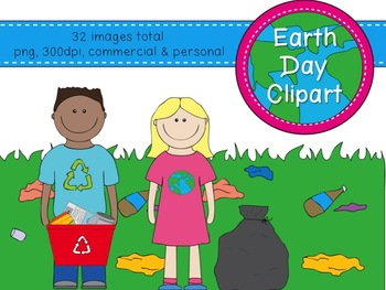 Earth Day Clipart {Kady Did Doodles}