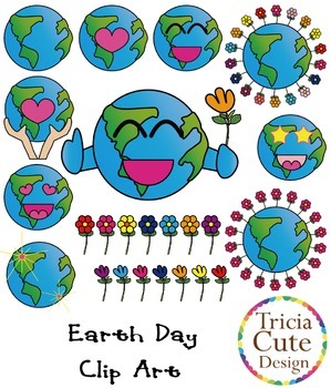 Earth Day Clipart – Love our Earth