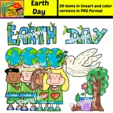 Earth Day - Clipart Set - 30 items