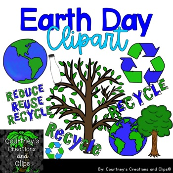 Earth Day Clipart for Personal and Commercial Use