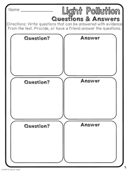 Text-Based Close Reading & Writing Unit
