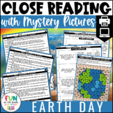 Earth Day Close Reads w/ Mystery Picture Activity for Grades 3-6