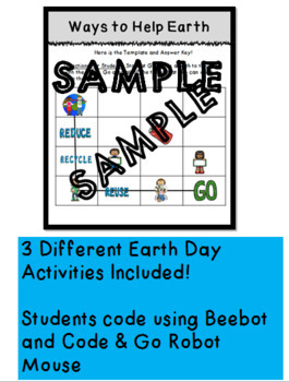 Earth Day Coding For Primary Grade Students