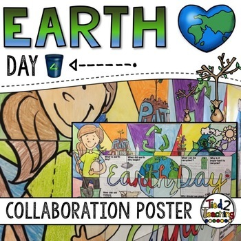 Earth Day Activity - Collaborative Writing Poster Project