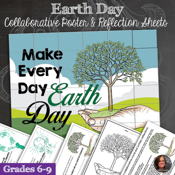 Earth Day Collaborative Poster, Earth Day Writing Activities