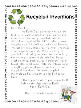 Earth Day Collection Materials