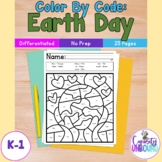 Earth Day Color By Code