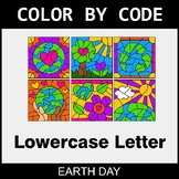 Earth Day: Color By Letter (Lowercase)
