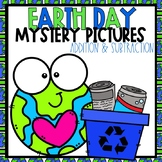 Earth Day Color-By-Number Addition and Subtraction to 20