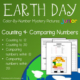 Earth Day Counting/Greater Than/Less Than Worksheets