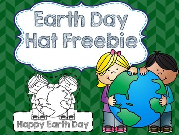 Earth Day Color & Cut Hats