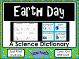 Earth Day Color, Cut, and Glue Dictionary