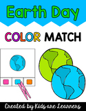 Earth Day Color Match Clip Cards