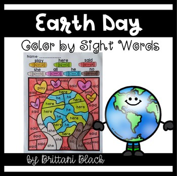 Earth Day~ Color by Code