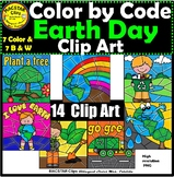 Earth Day Color by Code Clip Art  ClipArt  images Recycle