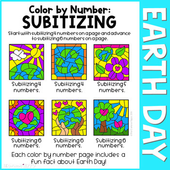 Earth Day Color by Number