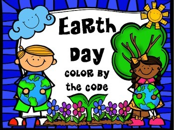Earth Day Color by the Code