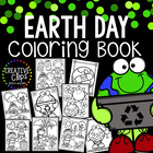 Earth Day Coloring Book {Made by Creative Clips Clipart}