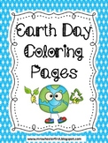 First Grade Science: Earth Day Coloring Pages