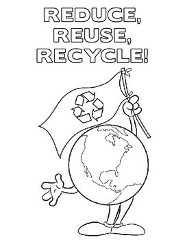 Earth Day Coloring Pages - Set of 5!
