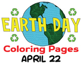 Earth Day Coloring Pages