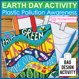 Earth Day Coloring Pages - Plastic Pollution Art Activity