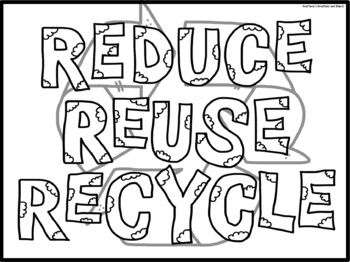 Earth Day Coloring Pages FREEBIE