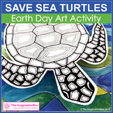 Earth Day Coloring Pages | Sea Turtles Art Activity
