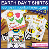 Earth Day Coloring Pages - T Shirt Art Activity