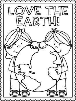 earth day coloring worksheet breadandhearth. Black Bedroom Furniture Sets. Home Design Ideas