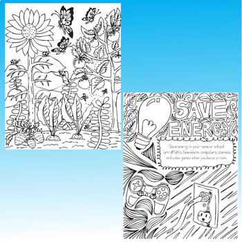 Earth Day Coloring Pages Zen Doodles