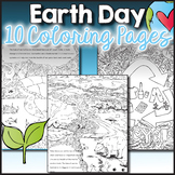 Earth Day Coloring Pages, Zen Doodles