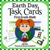 Earth Day Math Task Cards (1st Grade Common Core)
