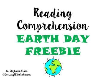 Earth Day Comprehension File