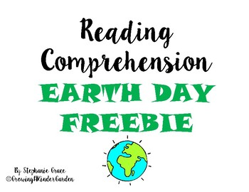 Earth Day Comprehension File
