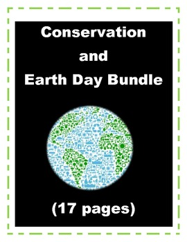 Earth Day / Conservation Bundle (Reduce, Reuse, Recycle)