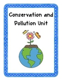 Conservation & Pollution Unit! {Enrichment, Creative Probl
