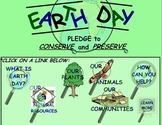 Earth Day Conserve and Preserve